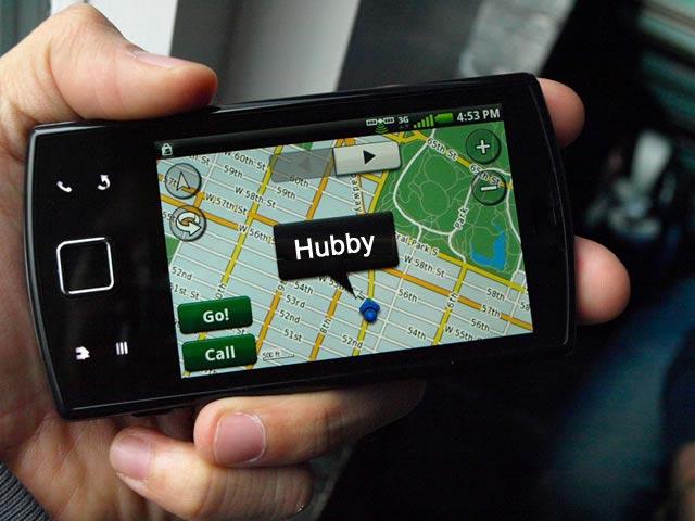 Suivre mon mari grâce à la localisation de son portable